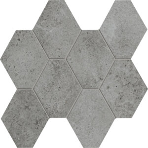 Hex Mosaic Silver