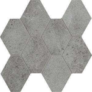Hex Mosaic Silver