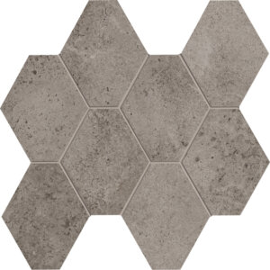 Hex Mosaic Clay