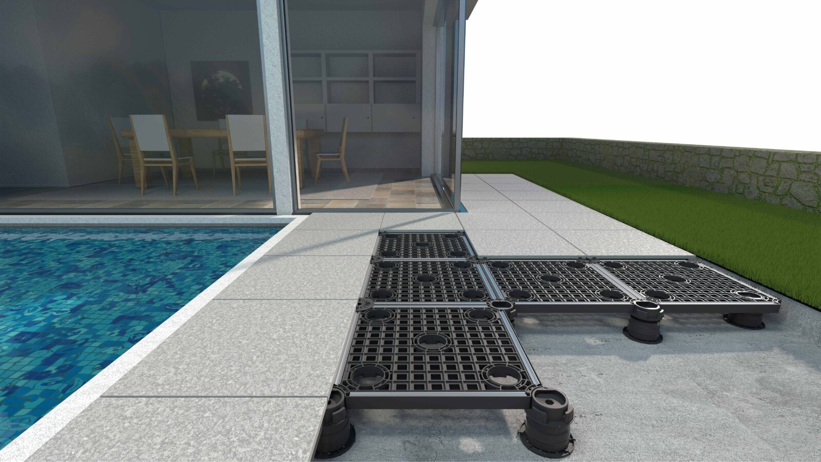 Outdoor Pedestal System